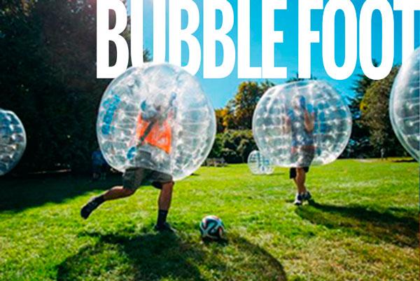 activité pour groupe étudiant bubble foot