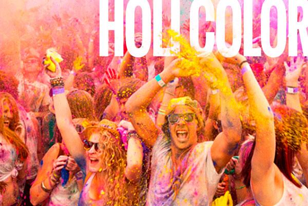 activité pour groupe étudiant holi color