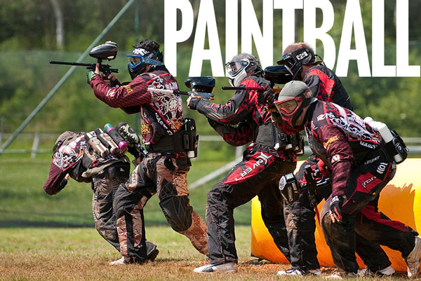 animation pour groupe paintball