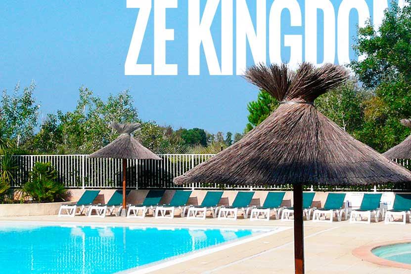 ze kingdom - camping etudiant avec piscine