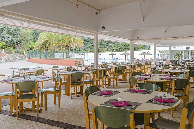 salle de restauration ze villa del sol